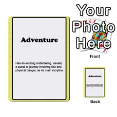 Deal Me A Story Cards By Vickie Boutwell   Multi Purpose Cards (rectangle)   00j15fphwnsv   Www Artscow Com Front 8