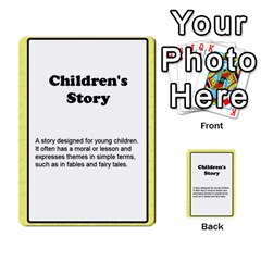 Deal Me A Story Cards By Vickie Boutwell   Multi Purpose Cards (rectangle)   00j15fphwnsv   Www Artscow Com Front 11