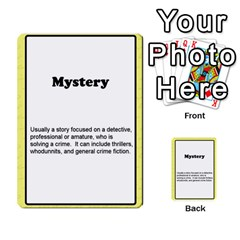 Deal Me A Story Cards By Vickie Boutwell   Multi Purpose Cards (rectangle)   00j15fphwnsv   Www Artscow Com Front 12