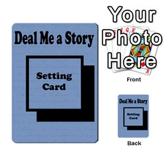 Deal Me A Story Cards By Vickie Boutwell   Multi Purpose Cards (rectangle)   00j15fphwnsv   Www Artscow Com Back 13