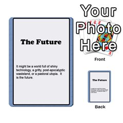 Deal Me A Story Cards By Vickie Boutwell   Multi Purpose Cards (rectangle)   00j15fphwnsv   Www Artscow Com Front 22