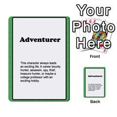 Deal Me A Story Cards By Vickie Boutwell   Multi Purpose Cards (rectangle)   00j15fphwnsv   Www Artscow Com Front 24