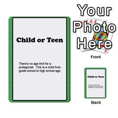 Deal Me A Story Cards By Vickie Boutwell   Multi Purpose Cards (rectangle)   00j15fphwnsv   Www Artscow Com Front 26