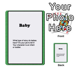 Deal Me A Story Cards By Vickie Boutwell   Multi Purpose Cards (rectangle)   00j15fphwnsv   Www Artscow Com Front 28