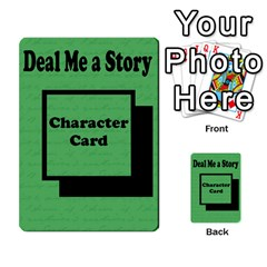Deal Me A Story Cards By Vickie Boutwell   Multi Purpose Cards (rectangle)   00j15fphwnsv   Www Artscow Com Back 30