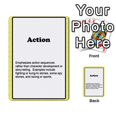 Deal Me A Story Cards By Vickie Boutwell   Multi Purpose Cards (rectangle)   00j15fphwnsv   Www Artscow Com Front 4