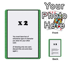 Deal Me A Story Cards By Vickie Boutwell   Multi Purpose Cards (rectangle)   00j15fphwnsv   Www Artscow Com Front 33