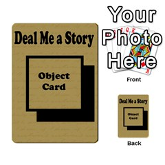 Deal Me A Story Cards By Vickie Boutwell   Multi Purpose Cards (rectangle)   00j15fphwnsv   Www Artscow Com Back 39