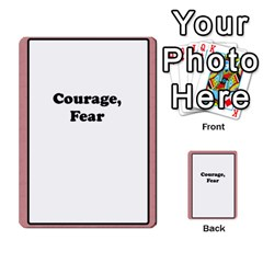 Deal Me A Story Cards By Vickie Boutwell   Multi Purpose Cards (rectangle)   00j15fphwnsv   Www Artscow Com Front 50