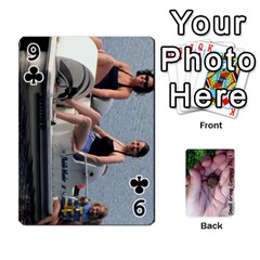 2011 Camping Deck Public By Elizabeth Brechtel   Playing Cards 54 Designs   Hoa8g9gju6kz   Www Artscow Com Front - Club9