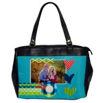 Heart - Oversize office bag - Oversize Office Handbag