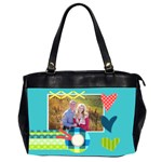 Heart - Office handbag - Oversize Office Handbag (2 Sides)