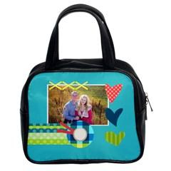 Heart   Classic Handbag By Digitalkeepsakes   Classic Handbag (two Sides)   Li3lgyr2xymy   Www Artscow Com Front