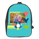 Playful Hearts - School Bag (Large)