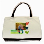 Playful Hearts - Basic Tote Bag (Two Sides)