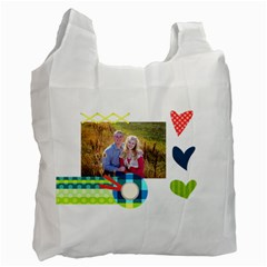 Playful Hearts By Digitalkeepsakes   Recycle Bag (two Side)   Qaskgrgf687y   Www Artscow Com Front