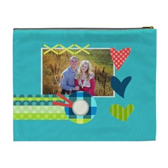 Playful Hearts By Digitalkeepsakes   Cosmetic Bag (xl)   7f4mf0je11nf   Www Artscow Com Back