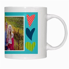 Playful Hearts By Digitalkeepsakes   White Mug   D9cpc5b6vzwx   Www Artscow Com Right