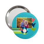 Playful Hearts - 2.25  Handbag Mirror