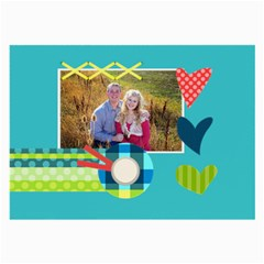 Playful Hearts By Digitalkeepsakes   Large Glasses Cloth (2 Sides)   Ffer0qfue9a7   Www Artscow Com Back