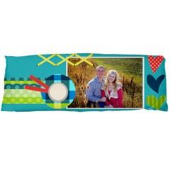 Playful Hearts By Digitalkeepsakes   Body Pillow Case Dakimakura (two Sides)   94yxs543iksw   Www Artscow Com Back