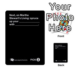 Cah Custom Deck Template 1 By Steven   Multi Purpose Cards (rectangle)   Q8jlzb3bd6re   Www Artscow Com Front 51