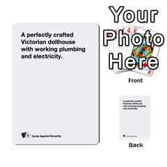 Cah Custom Deck Template 1 By Steven   Multi Purpose Cards (rectangle)   Q8jlzb3bd6re   Www Artscow Com Front 24