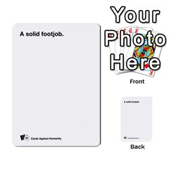 Cah Custom Deck Template 1 By Steven   Multi Purpose Cards (rectangle)   Q8jlzb3bd6re   Www Artscow Com Front 31