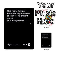 Cah Custom Deck Template 1 By Steven   Multi Purpose Cards (rectangle)   Q8jlzb3bd6re   Www Artscow Com Front 43
