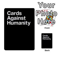 Cah Custom Deck Template 1 By Steven   Multi Purpose Cards (rectangle)   Q8jlzb3bd6re   Www Artscow Com Back 43