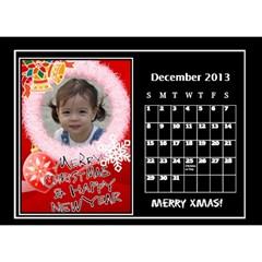 Nonna C1 By Michelle   Desktop Calendar 8 5  X 6    S77gwn4g2nf7   Www Artscow Com Dec 2013