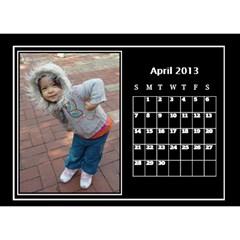 Nonna C1 By Michelle   Desktop Calendar 8 5  X 6    S77gwn4g2nf7   Www Artscow Com Apr 2013