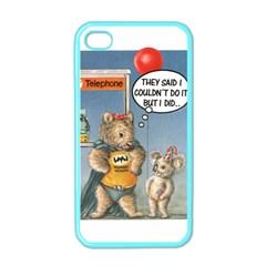 Wombat Woman Apple Iphone 4 Case (color) by Koalasandkangasplus