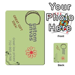 Custom Canvas Business Card By F Blau   Multi Purpose Cards (rectangle)   Czq3zmka8pkr   Www Artscow Com Front 41