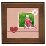 love kids - Framed Tile