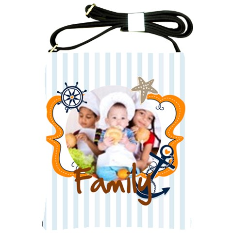 Family By Mac Book   Shoulder Sling Bag   Fgnf6m1wk2ko   Www Artscow Com Front