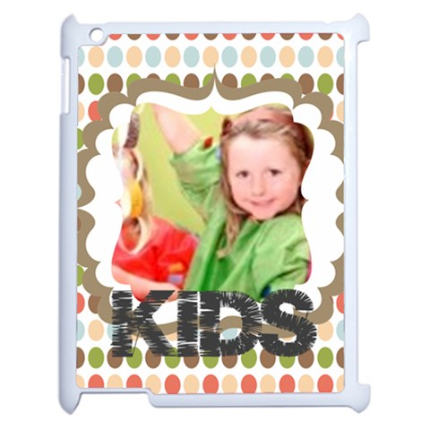 Kids By Mac Book   Apple Ipad 2 Case (white)   Vzn5jaartdgi   Www Artscow Com Front