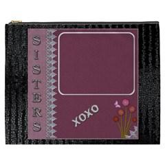 Sisters Xxxl Cosmetic Bag By Lil    Cosmetic Bag (xxxl)   G7n8fptzszqr   Www Artscow Com Front