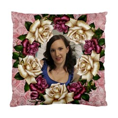 Roses And Lace 2 Cushion Case (2 Sided) By Deborah   Standard Cushion Case (two Sides)   Gz2hnjza4s61   Www Artscow Com Back