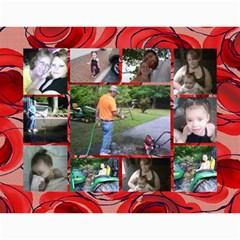 Girls By Bertie   Wall Calendar 11  X 8 5  (18 Months)   Ao6maf5ztfjx   Www Artscow Com Month