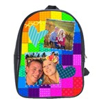 Rainbow Stitch - School Bag (Large)