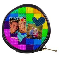 Rainbow Stitch By Digitalkeepsakes   Mini Makeup Bag   Zqfccuxbtwwx   Www Artscow Com Front