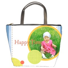 Happy Time By Jacob   Bucket Bag   8p31ks0ltb5a   Www Artscow Com Front