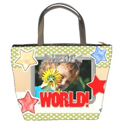 Happy Holiday By Jacob   Bucket Bag   K0zvzhfrql42   Www Artscow Com Back