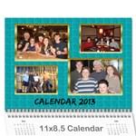 2013 - Wall Calendar 11  x 8.5  (12-Months)