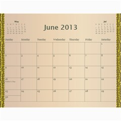 2013 By Terry   Wall Calendar 11  X 8 5  (12 Months)   Xml2cr905hz3   Www Artscow Com Jun 2013