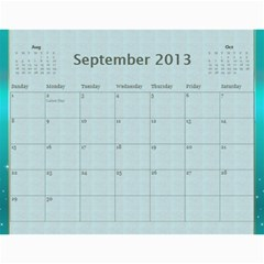 2013 By Terry   Wall Calendar 11  X 8 5  (12 Months)   Xml2cr905hz3   Www Artscow Com Sep 2013