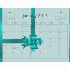 2013 By Terry   Wall Calendar 11  X 8 5  (12 Months)   Xml2cr905hz3   Www Artscow Com Jan 2013