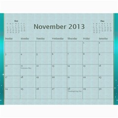 2013 By Terry   Wall Calendar 11  X 8 5  (12 Months)   Xml2cr905hz3   Www Artscow Com Nov 2013