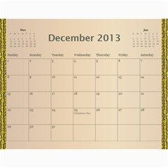 2013 By Terry   Wall Calendar 11  X 8 5  (12 Months)   Xml2cr905hz3   Www Artscow Com Dec 2013